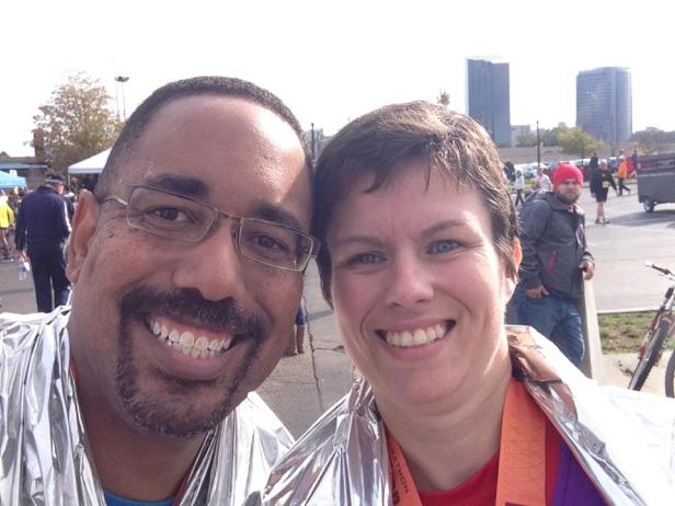 Dave and Angela Clock - Post Race Selfie Tradition