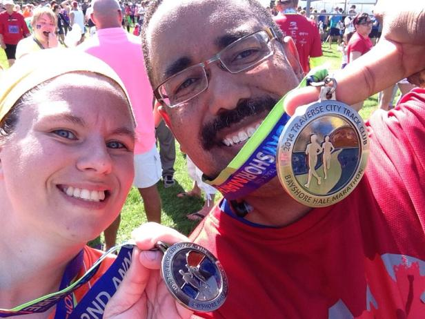 2014 Bayshore Post Race Medals